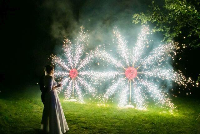 fajerwerki na wesele Gdańsk